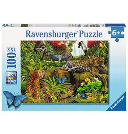 Ravensburger Wild Jungle - 100 Piece XXL Puzzle