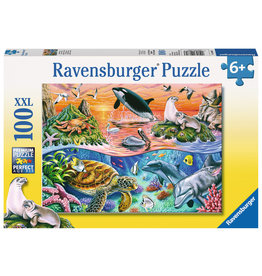 Ravensburger Beautiful Ocean - 100 Piece XXL Puzzle
