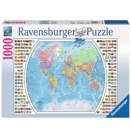 Ravensburger Political World Map - 1000 Piece Puzzle