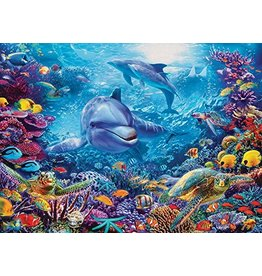 Cobble Hill Dolphins At Play - 1000 Piece Puzzle
