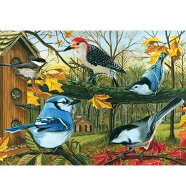 Cobble Hill Blue Jay and Friends - 1000 Piece Puzzle
