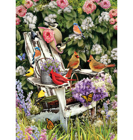 Cobble Hill Summer Adirondack Birds - 1000 Piece Puzzle