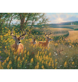Cobble Hill Summer Deer - 1000 Piece Puzzle