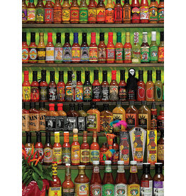 Cobble Hill Hot Hot Sauce - 1000 Piece Puzzle