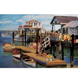Cobble Hill Summer Pier - 2000 Piece Puzzle