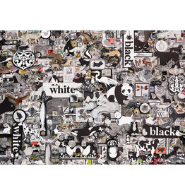 Cobble Hill Black & White Animals - 1000 Piece Puzzle