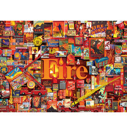 Cobble Hill Fire - 1000 Piece Puzzle