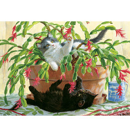 Cobble Hill Cactus Kitties - 1000 Piece Puzzle