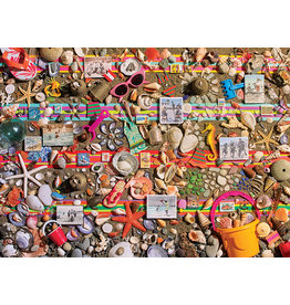 Cobble Hill Beach Scene - 1000 Piece Puzzle