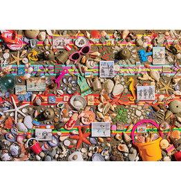Cobble Hill Beach Scene - 1000 Piece Puzzle