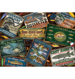 Cobble Hill Fish Signs - 1000 Piece Puzzle