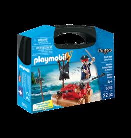 Playmobil 5655 - Carry Case - Pirate Raft