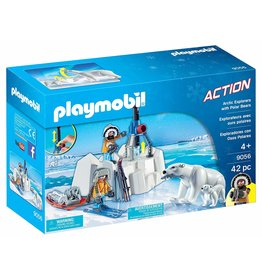 Playmobil 9056 - Arctic Explorers with Polar Bear