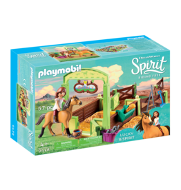 Playmobil 9478 - Lucky & Spirit With Horse Stall