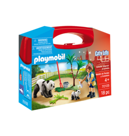 Playmobil 70105 - Panda Caretaker Carry Case