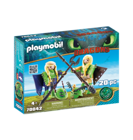 Playmobil 70042 - Ruffnut and Tuffnut with Flight Suit