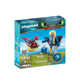 Playmobil 70041 - Astrid with Flight Suit/Hobgobbler