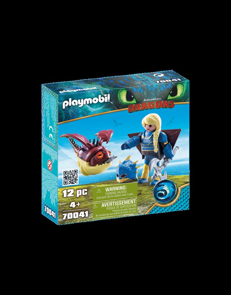 Playmobil 70041 - Astrid with Flight Suit/Hobgobbler