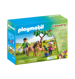Playmobil 5687 - Vet with Pony and Foal