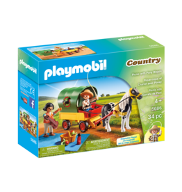 Playmobil 5686 - Picnic with Pony Wagon