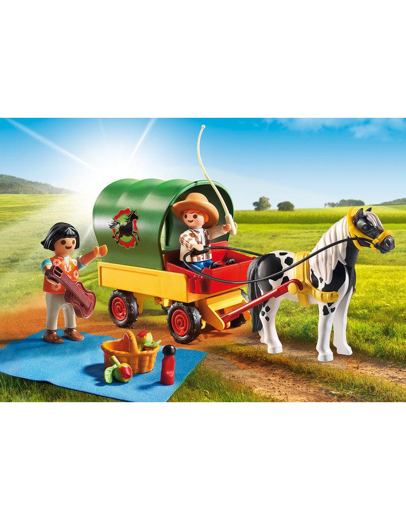 Playmobil 5686 - Picnic with Pony Wagon