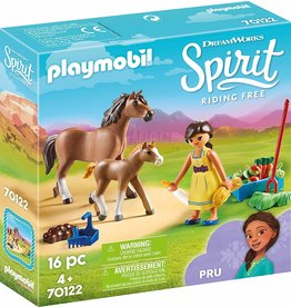 Playmobil 70122 - Pru with Horse and Foal