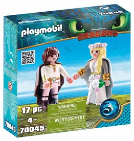 Playmobil 70045 - Astrid and Hiccup