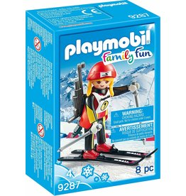 Playmobil 9287 - Female Biathlete
