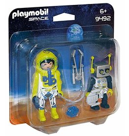 Playmobil 9492 - Duo Pack - Astronaut and Robot
