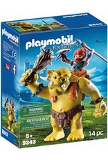 Playmobil 9343 - Giant Troll with Dwarf Fighter