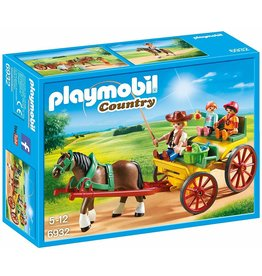 Playmobil 6932 - Horse-Drawn Wagon