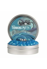 Crazy Aarons Teal Thinking Putty - Mini Tin