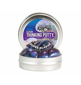 Crazy Aarons Super Scarab Thinking Putty - Mini Tin