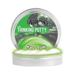 Crazy Aarons Krypton Glow Thinking Putty - Mini Tin