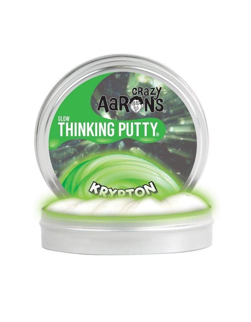 Crazy Aarons Krypton Glow Thinking Putty - Mini Tin