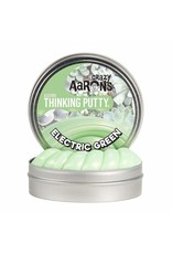 Crazy Aarons Electric Green Thinking Putty - Mini Tin