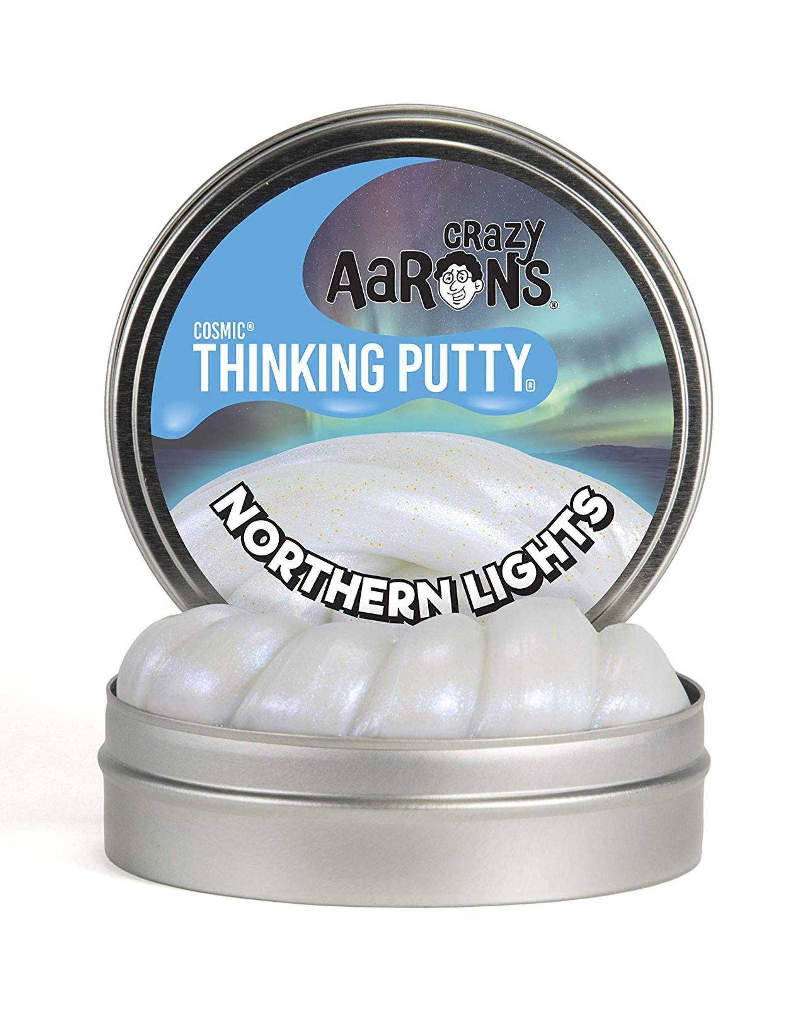 Crazy Aarons 3.2 oz - Northern Lights Thinking Putty