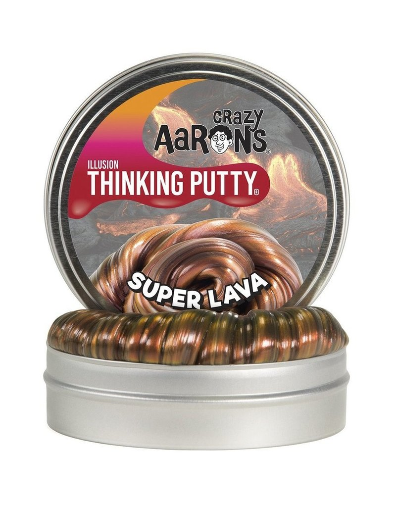 Crazy Aarons 3.2 oz - Super Lava Thinking Putty