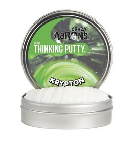 Crazy Aarons 3.2 oz - Krypton Glow Thinking Putty