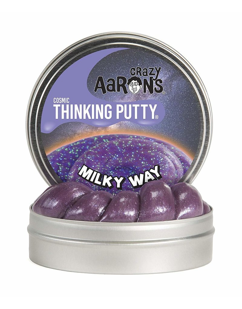 Crazy Aarons 3.2 oz - Milky Way Thinking Putty