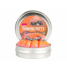 Crazy Aarons Neon Flash Thinking Putty - Mini Tin