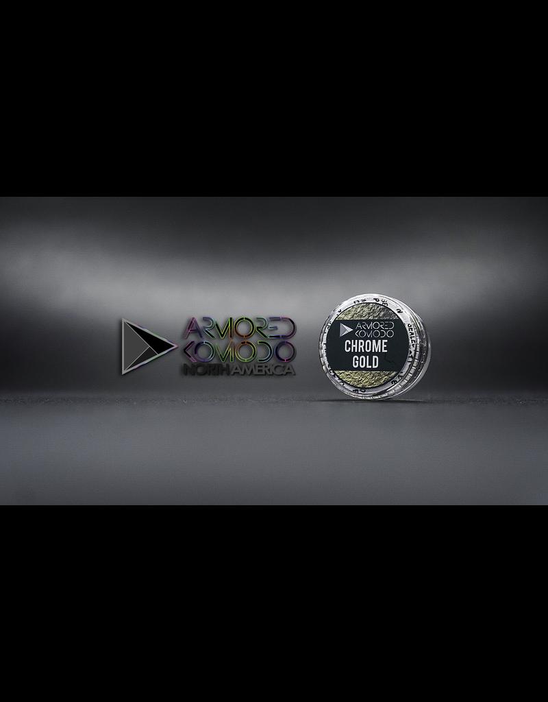 Armored Komodo Basic Chromaflair: Chrome Gold