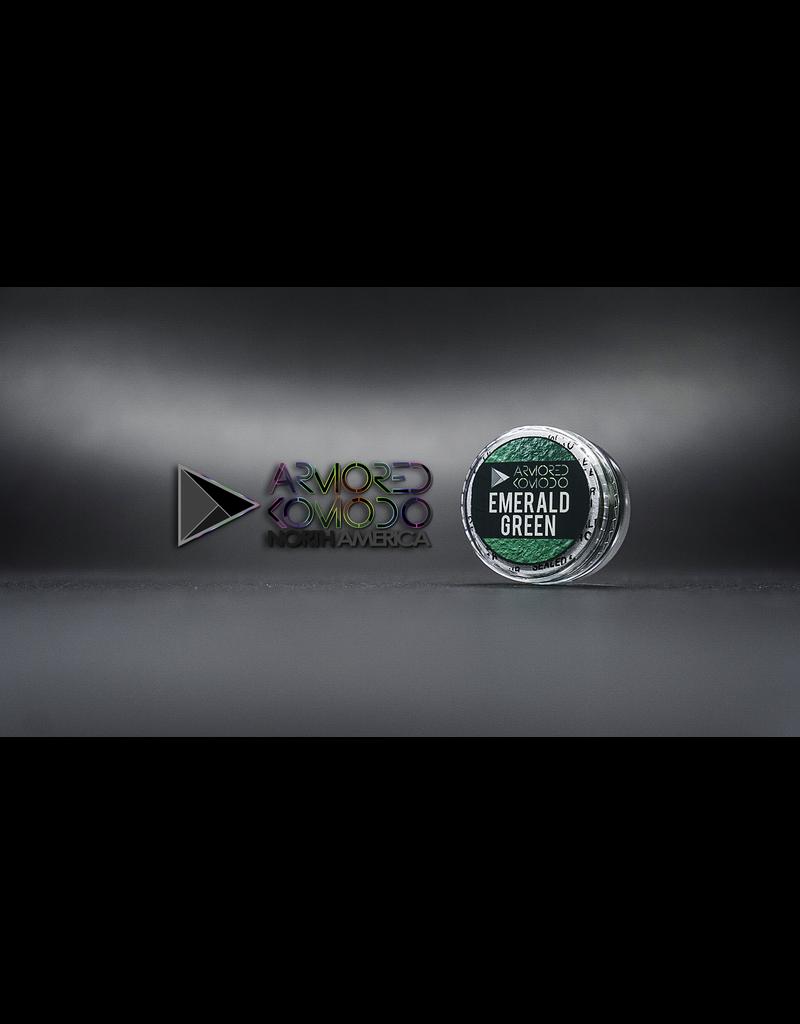 Armored Komodo Basic Chromaflair: Emerald Green