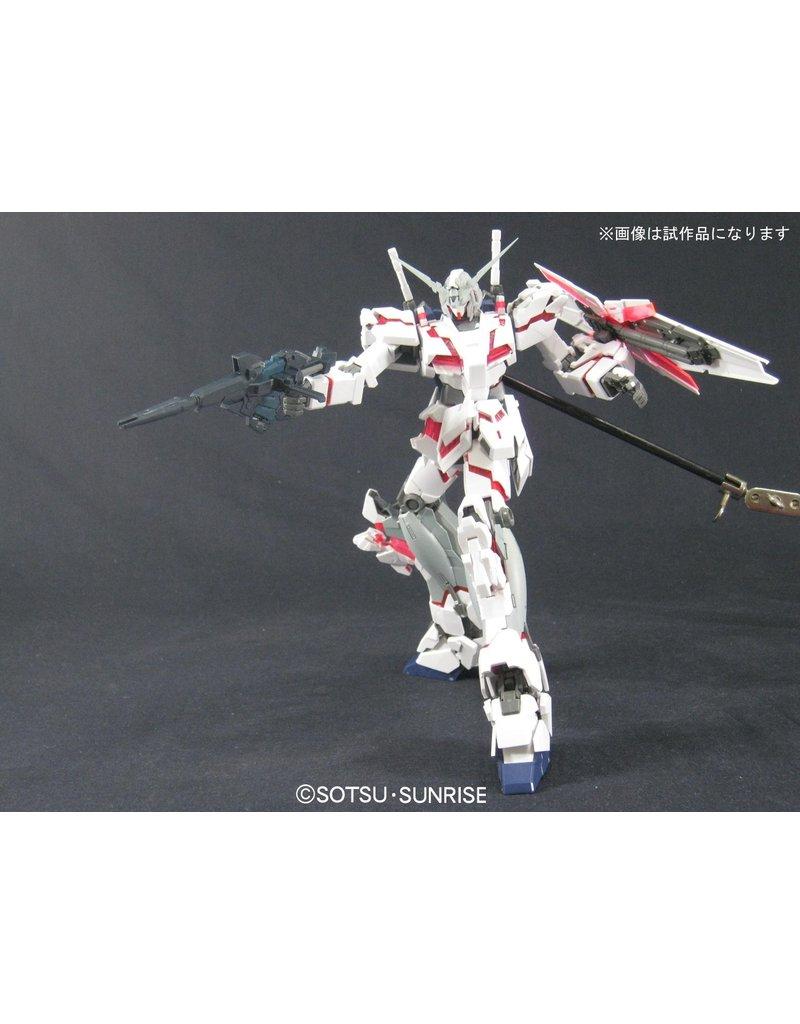 Bandai Unicorn Gundam HD Color + MS Cage MG