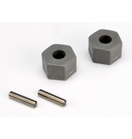 Traxxas 3654 - Front Hex Wheel Hub (2)