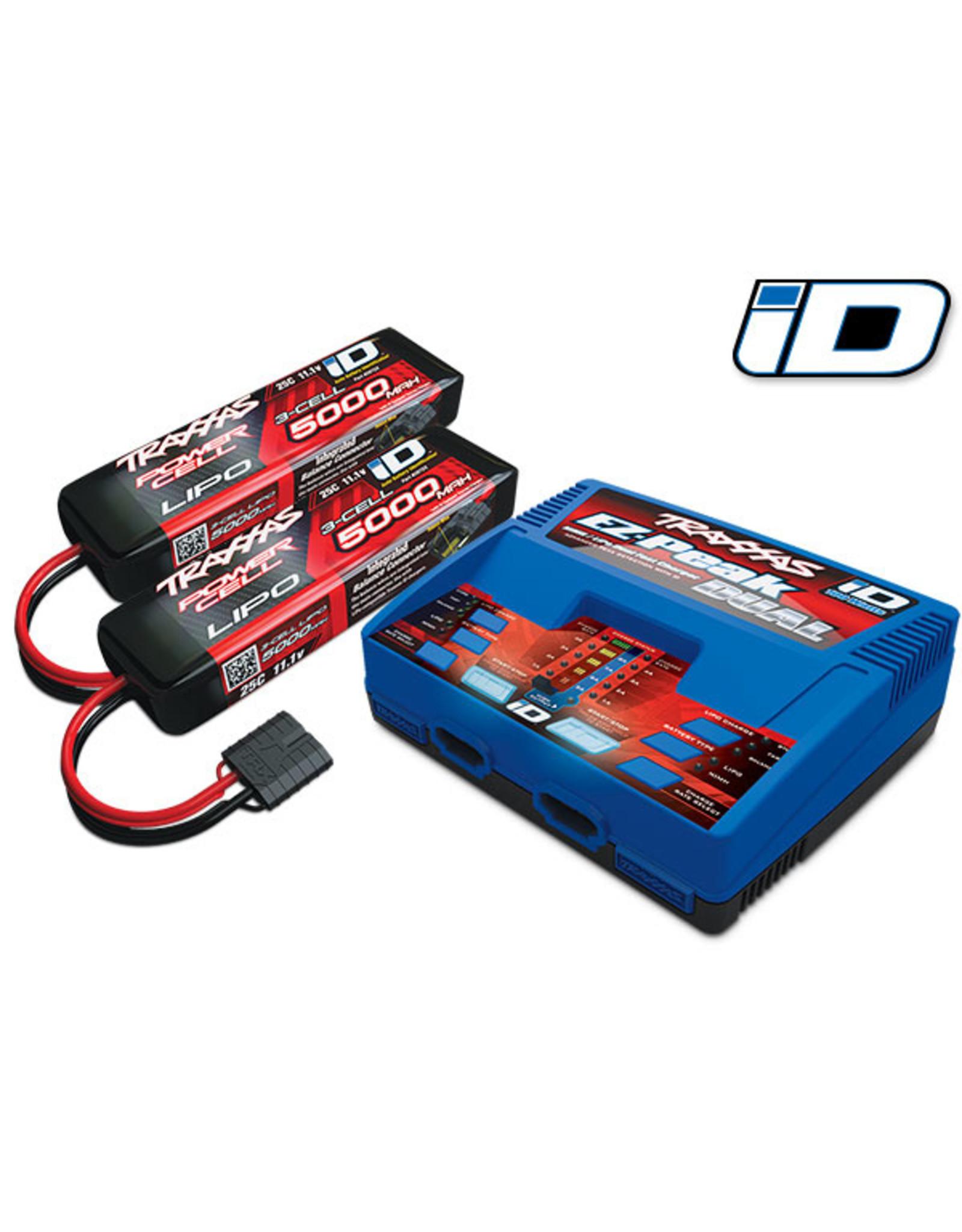 Traxxas 2990 - EZ-Peak Dual 3S Completer Pack - 2972 + 2872X(2)