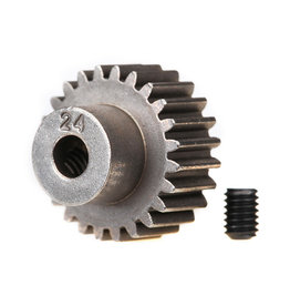 Traxxas 2424 - Pinion Gear with Set Screw - 24T, 48P
