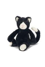 Jellycat Bashful Black & White Kitten - Medium