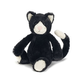 Jellycat Bashful Black & White Kitten - Medium