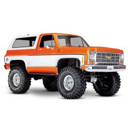 Traxxas 1/10 TRX-4 Trail Crawler Truck w/'79 Chevrolet K5 Blazer Body - Orange
